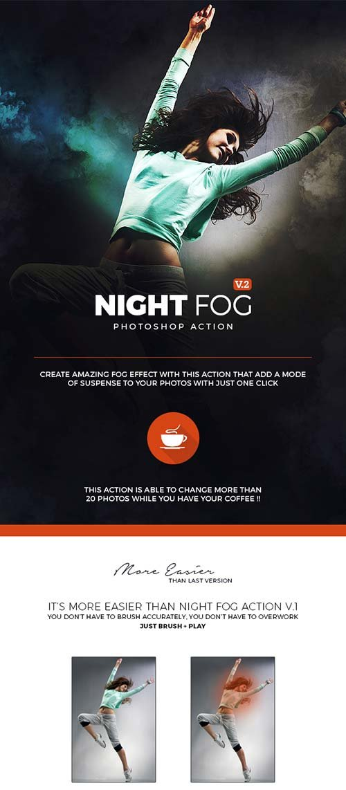 GraphicRiver Night Fog V2 Action