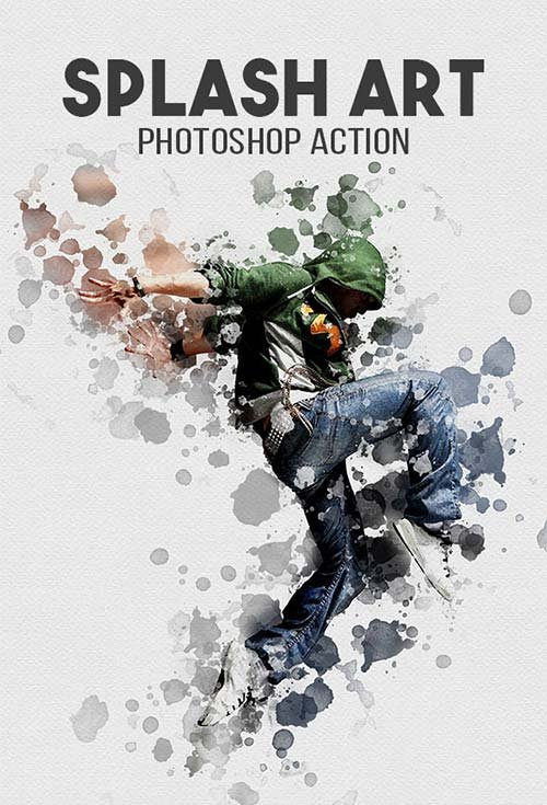 GraphicRiver Splash Art Photoshop Action