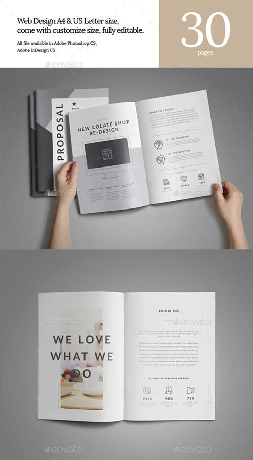 GraphicRiver Web Design Proposal