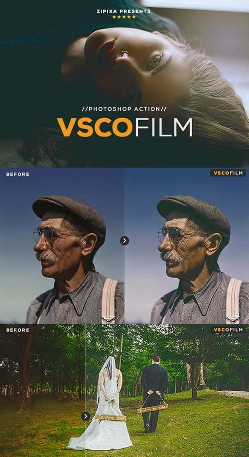GraphicRiver VSCO Film Action