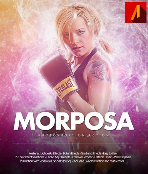 GraphicRiver Morposa Photoshop Action