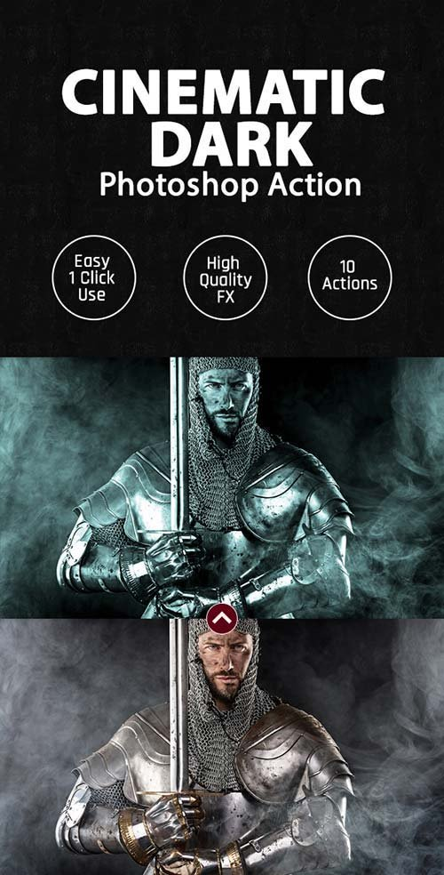 GraphicRiver Cinematic Dark Photoshop Action