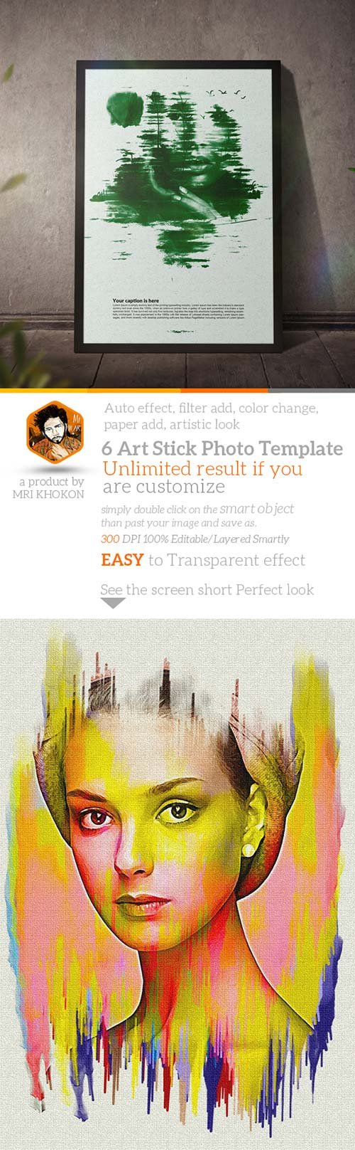 GraphicRiver Artistic Photo Manipulation Template