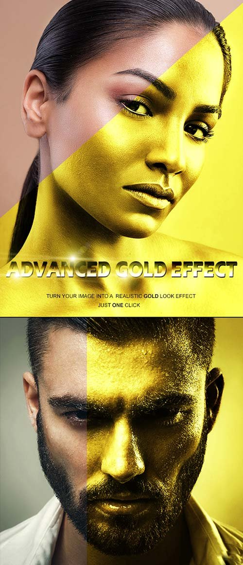 GraphicRiver Advanced Gold Effect