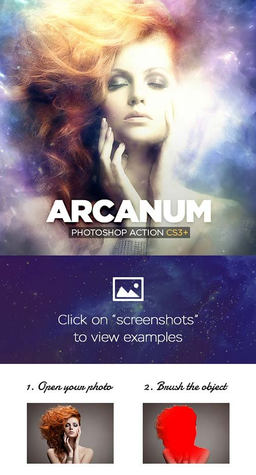 GraphicRiver Arcanum Photoshop Action CS3+