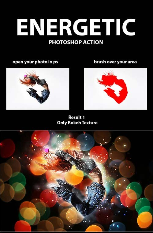 GraphicRiver Energetic PS Action
