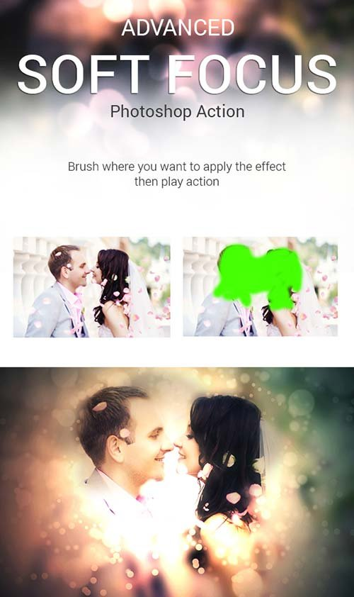 GraphicRiver Advanced Soft Focus Photoshop Action
