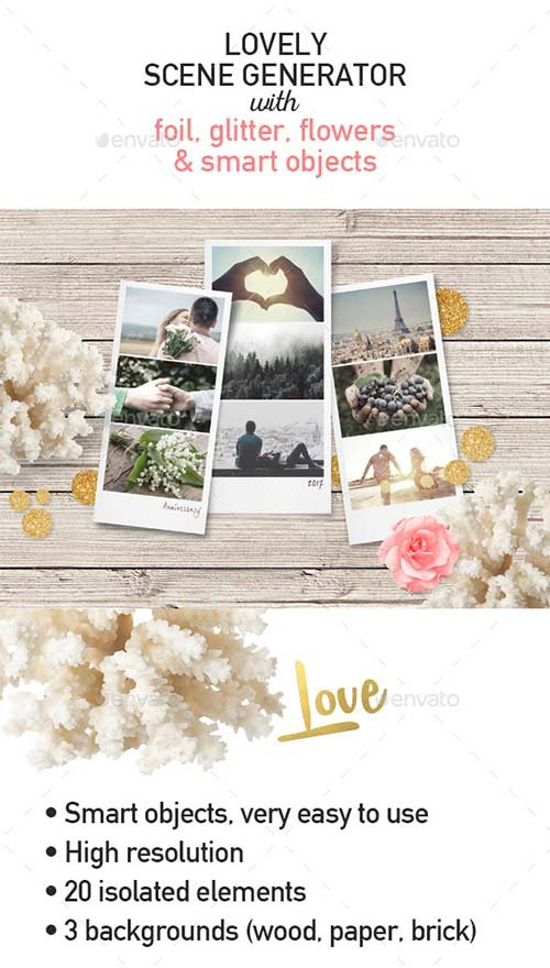 GraphicRiver Love / Valentine's Day Scene Creator