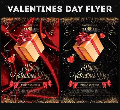 GraphicRiver Valentines Day Flyer 19270427
