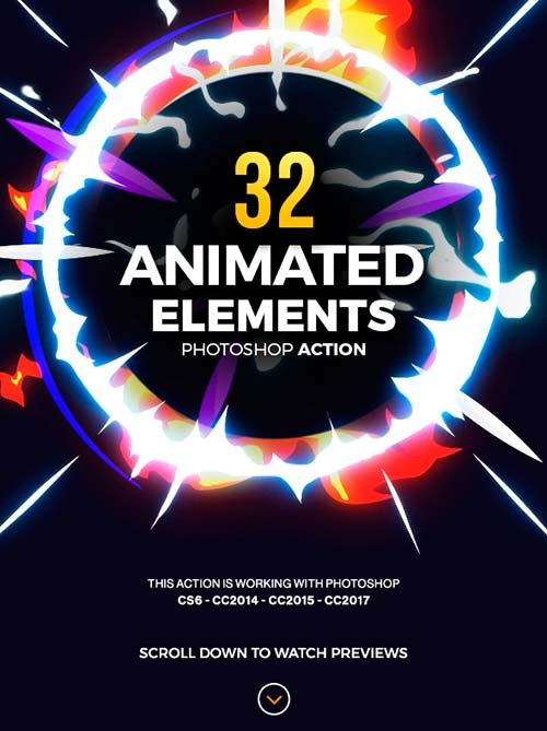 GraphicRiver 32 Animated Effects Action