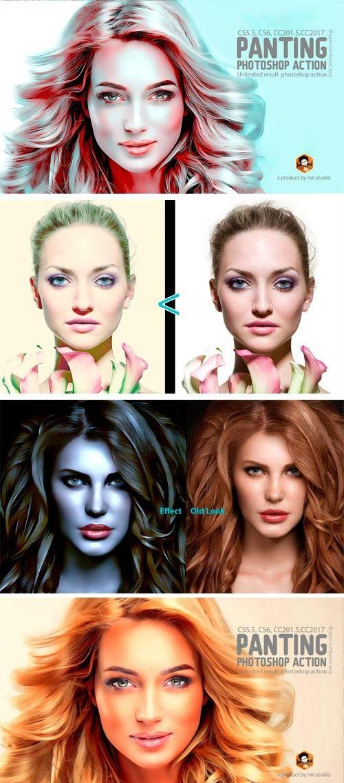 CreativeMarket Glamour Retouching Action