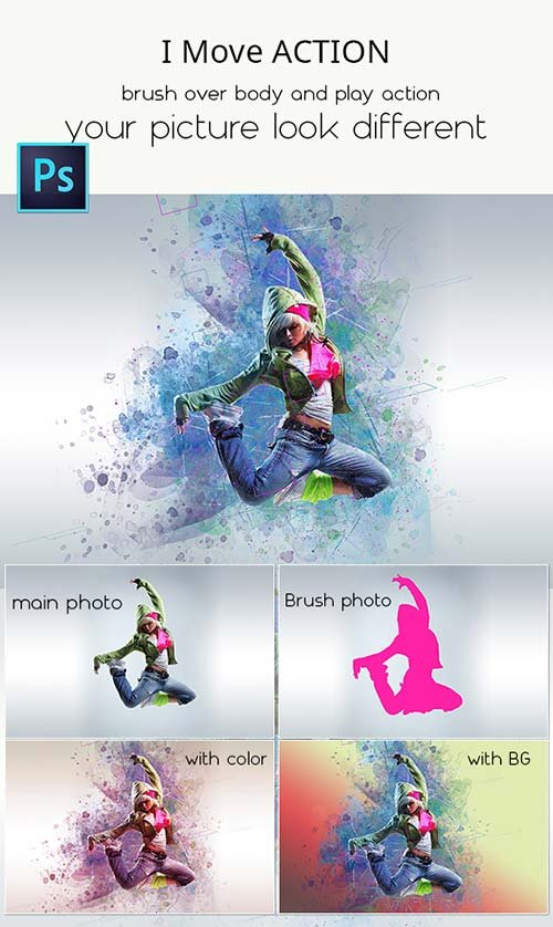 GraphicRiver i Move Action