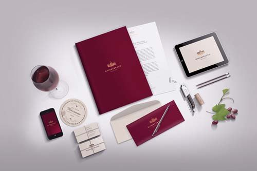 CreativeMarket Stationery / Branding mock-up