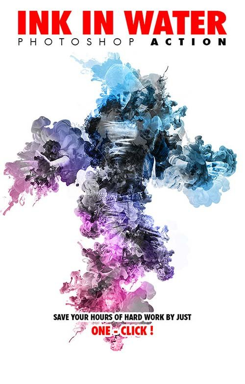GraphicRiver Ink In Water V.1 Photoshop Action