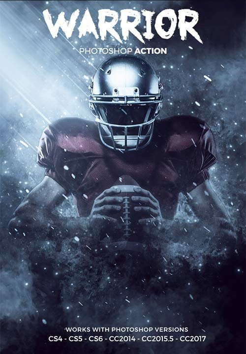 GraphicRiver Warrior Photoshop Action