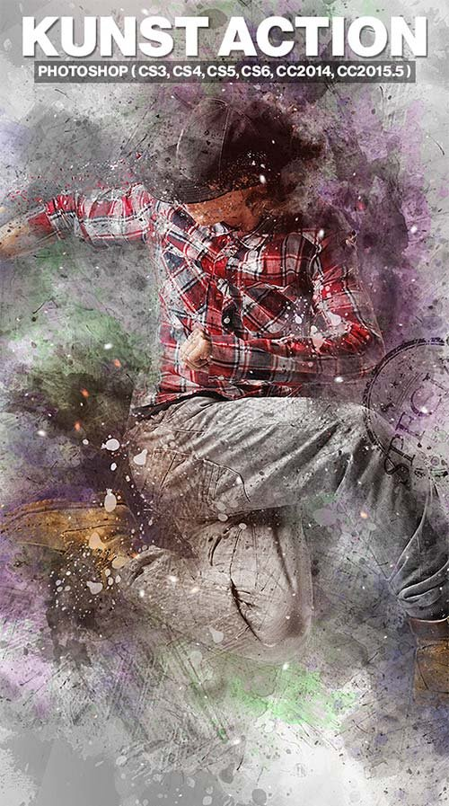 GraphicRiver Kunst Photoshop Action