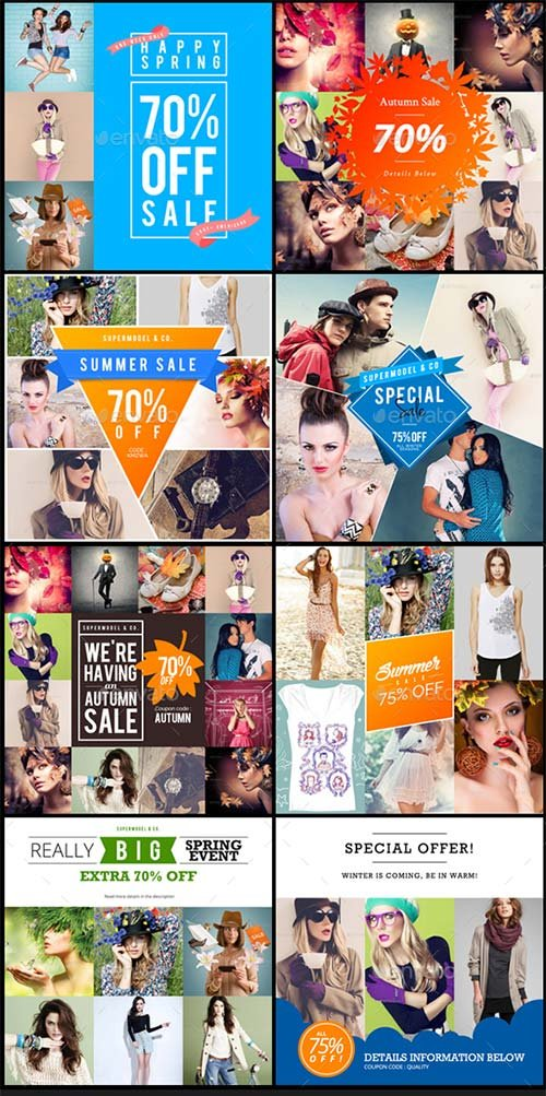 GraphicRiver Promogram Vol.02 - Instagram Promotion Template