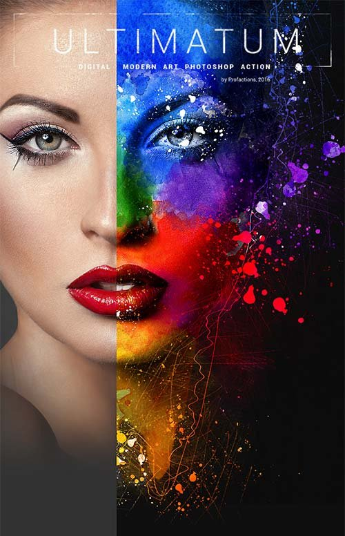 GraphicRiver Ultimatum - Digital Art Photoshop Action
