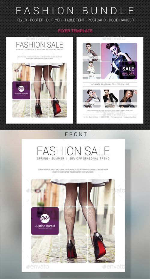 GraphicRiver Fashion Templates Bundle 3