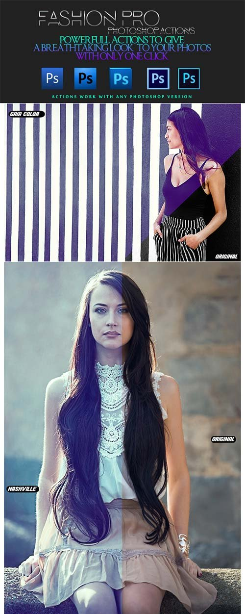 GraphicRiver Pro Fashion | Photo Effects