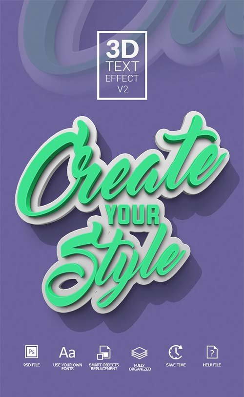 GraphicRiver 3D Text Effect V2