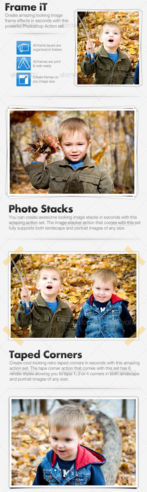 GraphicRiver Frame iT - Image Framing Action