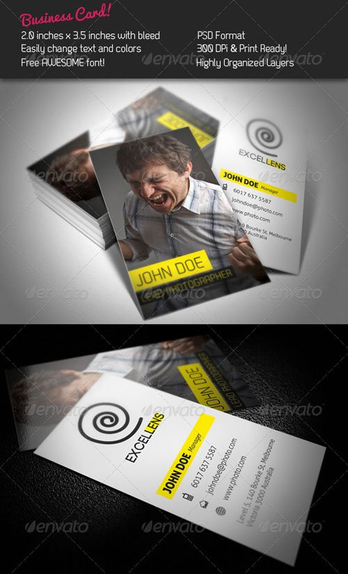 GraphicRiver Excellens Business Card