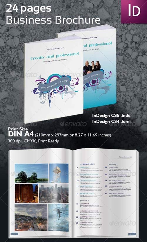 GraphicRiver Business Brochure 24 Pages
