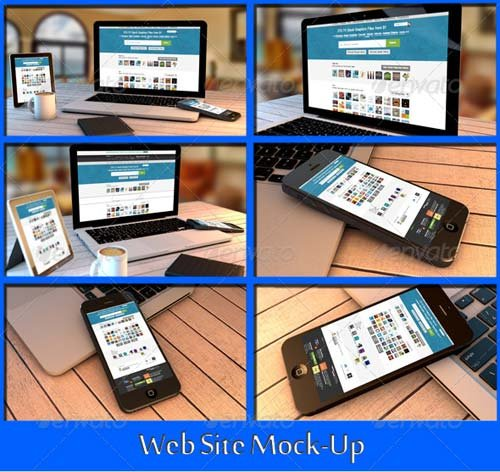 GraphicRiver Web Site Mock-Up