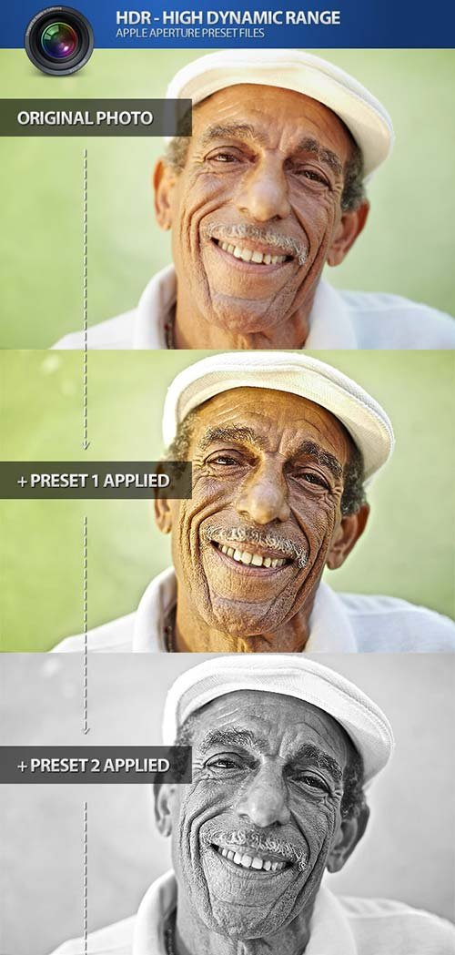 GraphicRiver HDR High Dynamic Range Aperture Photo Presets