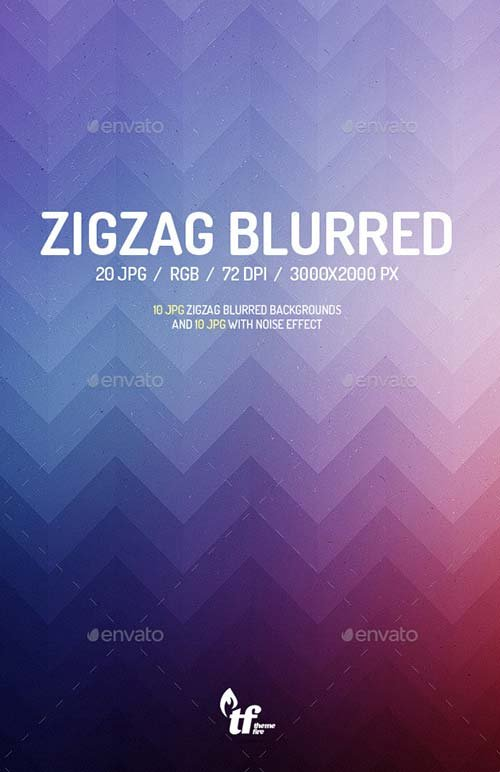 GraphicRiver Zigzag Blurred Backgrounds