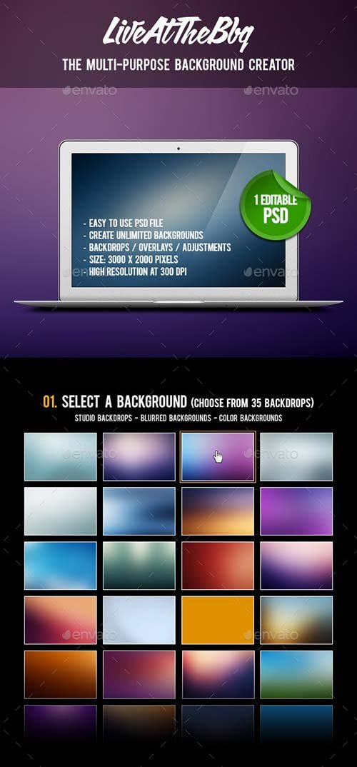 GraphicRiver Multi-Purpose Background Creator