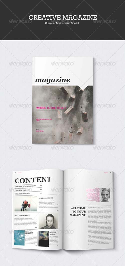 GraphicRiver Creative Magazine