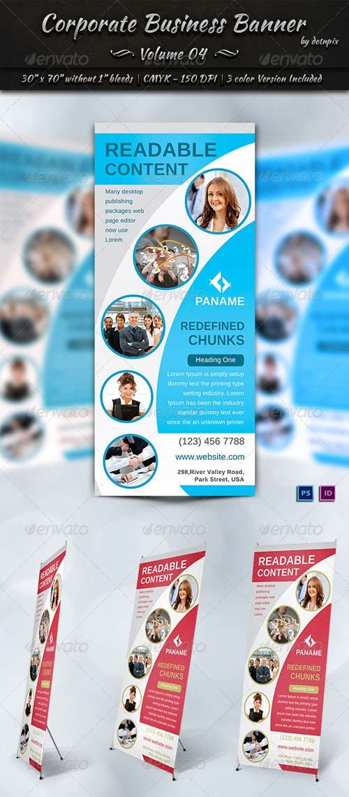 GraphicRiver Corporate Business Banner | Volume 4