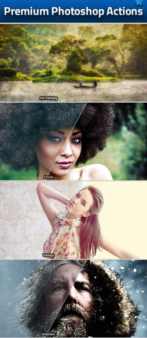 GraphicRiver Photoshop Actions