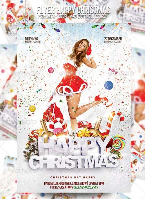 GraphicRiver Flyer Happy Christmas