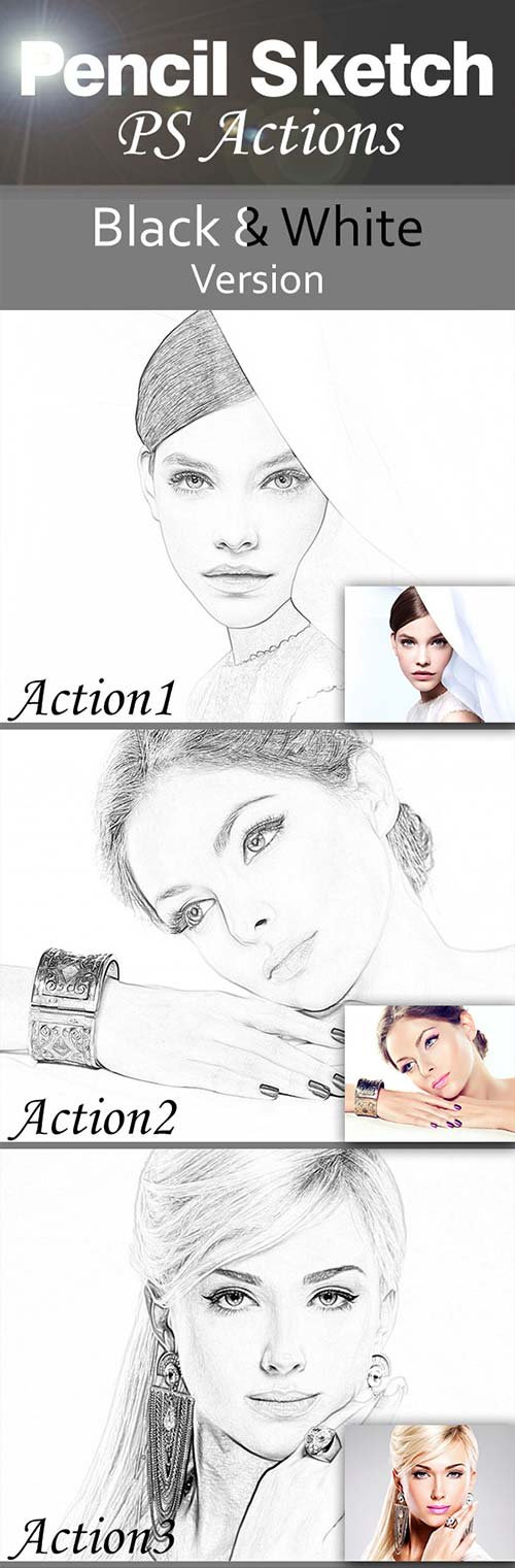 GraphicRiver Pencil Sketch Actions