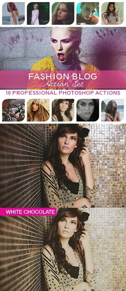 GraphicRiver 10 PRO Photoshop Actions Vol.II