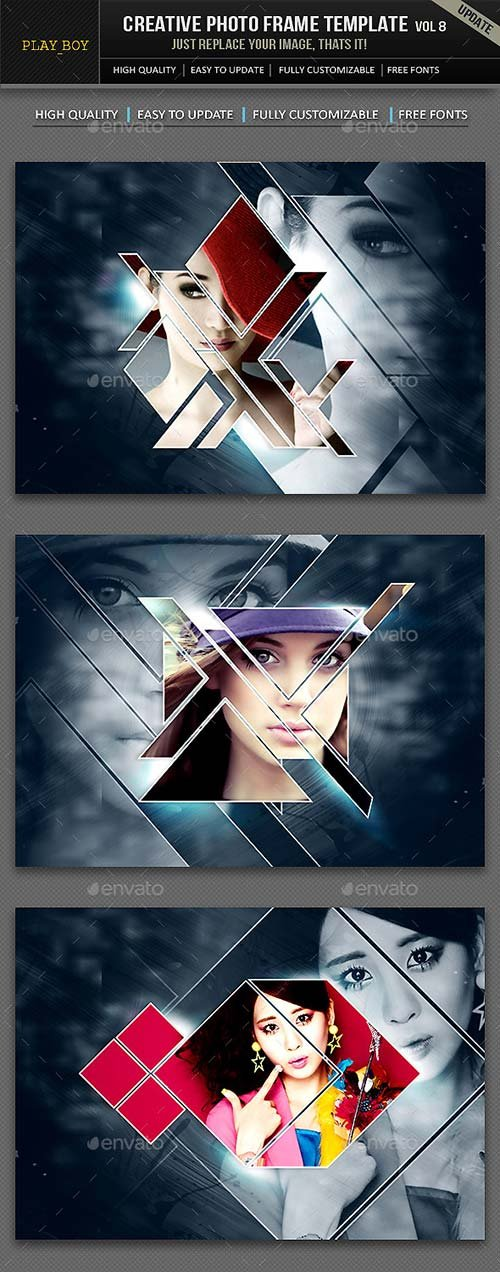 GraphicRiver Creative Photo Frame Template
