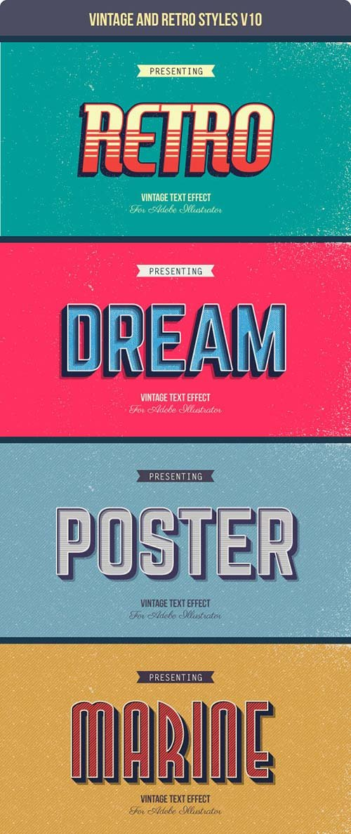 GraphicRiver Vintage and Retro Styles V10