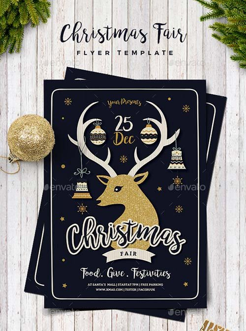 GraphicRiver Christmas Fair Flyer