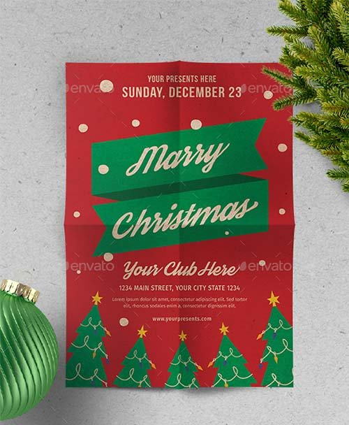GraphicRiver Christmas Flyer Vol.5