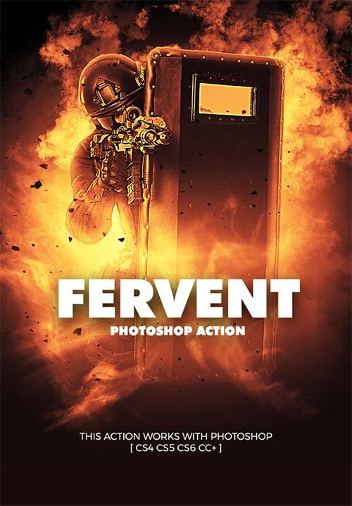 GraphicRiver Fervent Photoshop Action