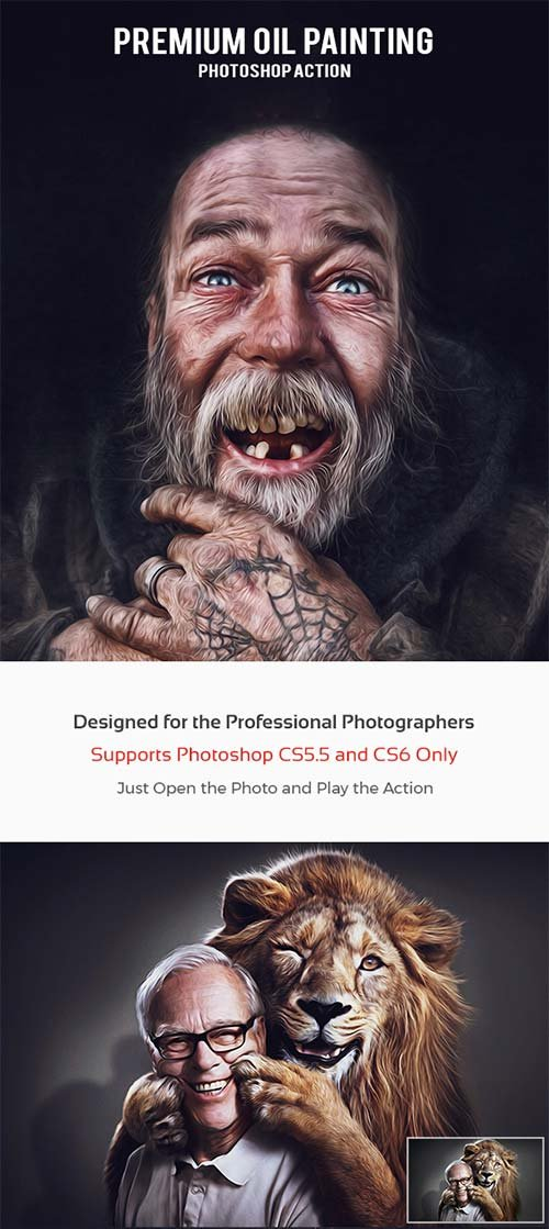 GraphicRiver Premium Oil Painting