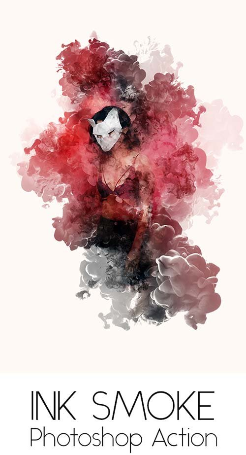 GraphicRiver Ink Smoke Action